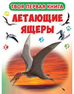 Летающие ящеры. Книга-картонка А-4