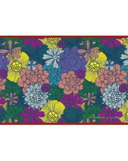 Разноцветные цветы (орнамент). Альбом для рисования