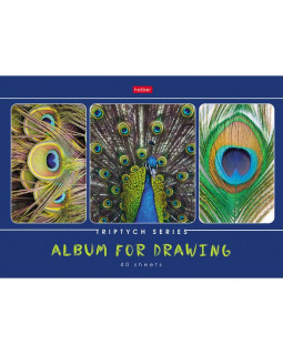"""Альбом для рисования """"Я рисую мой мир"""", А4, 40 листов"""