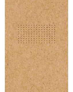 Блокнот. Что внутри? - точка (обложка крафт, круглые углы, в точку)