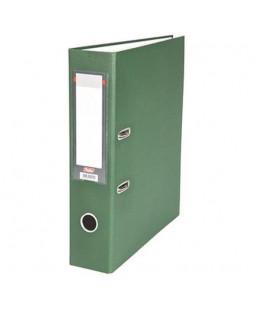 Папка-регистратор с арочным механизмом, 70 мм, темно-зеленая