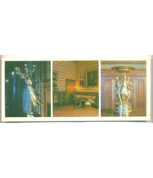 Канделябр с изображением богини Ники в парадной столовой.