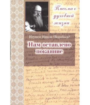Игумен Никон (Воробьев). Нам оставлено покаяние