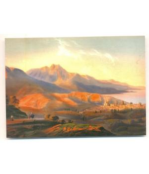 Карло Боссоли. Алушта. 1856 г.
