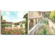 Фасады жилого и свитского корпусов. Аркада мечети Хан-Джами