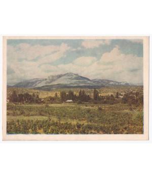 Крим. Алушта. Вид на гори з Алушти