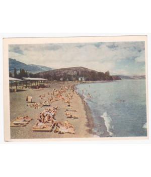 Алушта. Пляж
