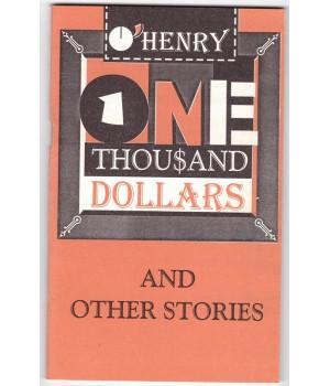 Генри, О. Тысяча долларов и другие рассказы