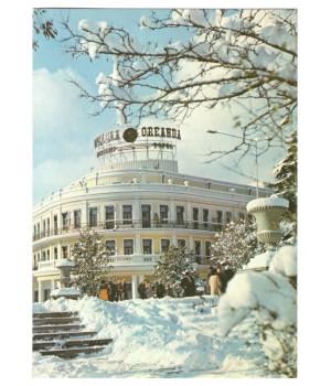 """Ялта. Гостиница """"Ореанда"""" зимой"""