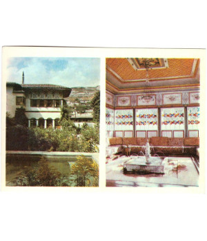 Бахчисарайский музей. Летняя беседка и Золотой кабинет