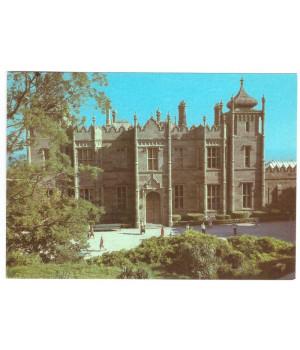 Алупкинский дворец-музей. Северный фасад дворца