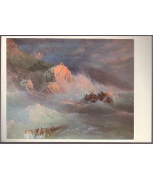 И. К. Айвазовский. Гибель корабля (1873 г.)