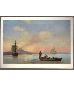 И. К. Айвазовский. Неаполитанский залив утром (1843 г.)