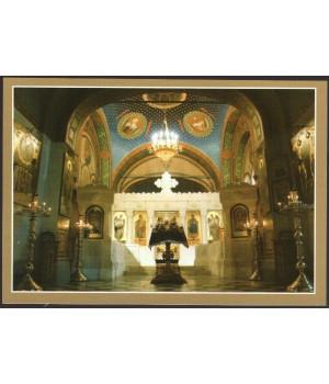 Современный интерьер церкви. Иконостас