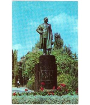 Крым. Алушта. Памятник А. М. Горькому