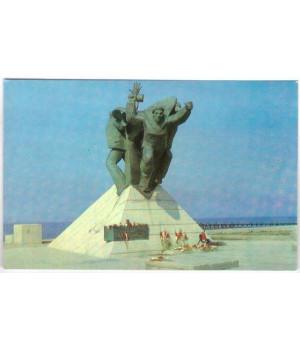Памятник морякам-черноморцам, героям Евпаторийского десанта
