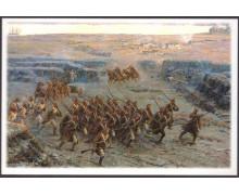 Солдаты Черниговского полка спешат на помощь защитникам Малахова кургана