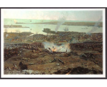 В тылу Малахова кургана стоят резервные части, готовые вступить в бой
